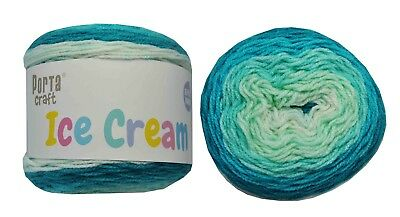 Ice Cream Yarn 200g 380m 100% Acrylic 8 ply like Caron Cake One Fine Day