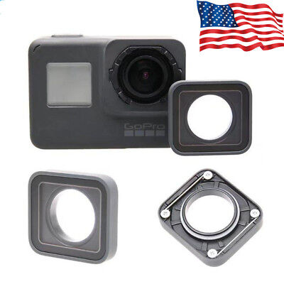 UV Lens Ring Replacement Protective Repair Case for Gopro Hero 7/6/5 Black