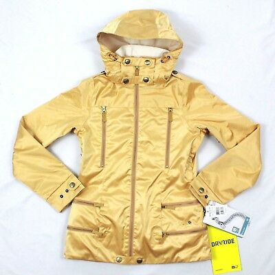 f613de9ba2 Burton 2L Elevation Snowboard Jacket DRYRIDE Durashell Gold Waterproof Coat   339