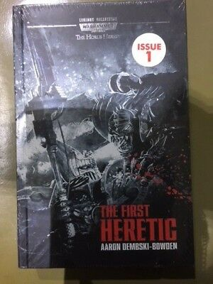 WARHAMMER 40,000 Legends Collection Issue 1 NEW: THE FIRST HERETIC Hardcover BK