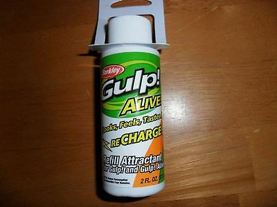 Berkley Gulp Alive Recharge Liquid - 57 ml bottle
