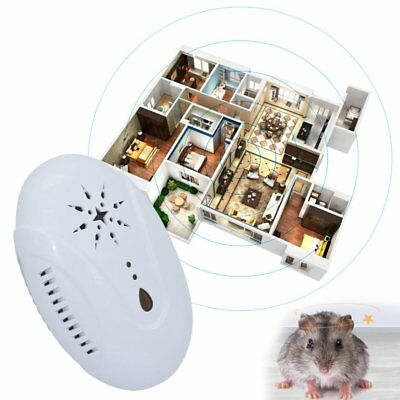 DC-9007 Adjustable Frequency Electronic Ultrasonic Pest Mouse Repeller W2