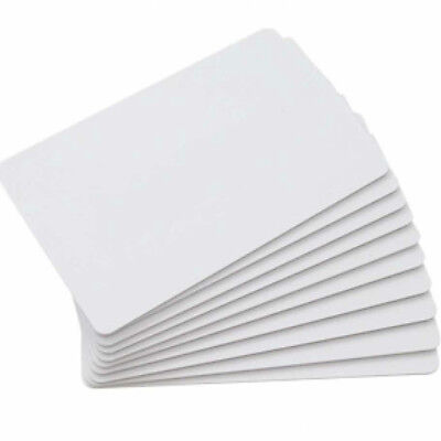 White Blank NFC Chip PVC Business Card NTAG216 Tags 85.5*54*0.86mm