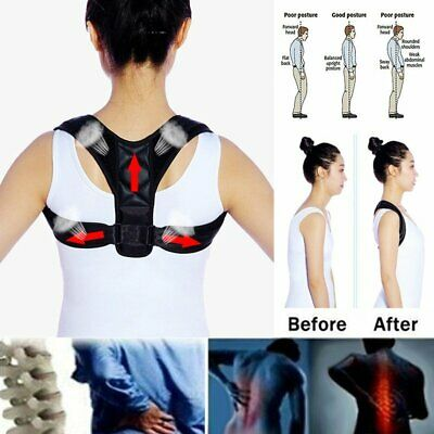 Universal Posture Clavicle Support Corrector Back Straight Shoulders Brace Strap