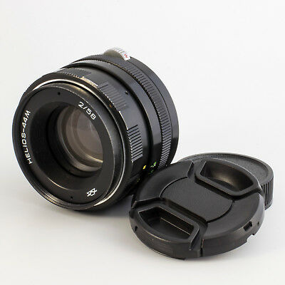 HELIOS 44M M42 58mm f2 Serviced USSR Lens for Zenit Pentax Canon 8163754
