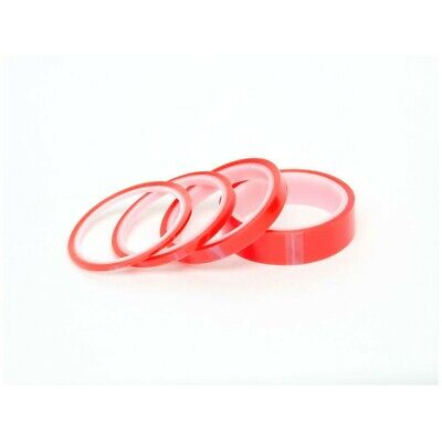 Double Sided Red Super Sticky Strong Clear Craft Tape 5m Roll  6mm / 9mm / 12mm