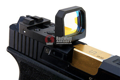 Blackcat Airsoft Folding Red Dot Sight - Black