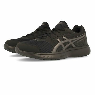115fc2300f Asics Womens Stormer 2 Running Shoes Trainers Sneakers Black Sports  Breathable