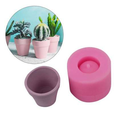 Handmade 3D Geometric Silicone Flowers Pot Mold Concret Succulent Planter Mould