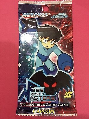 Jasco Megaman Rise of the Masters UFS CCG Booster Pack