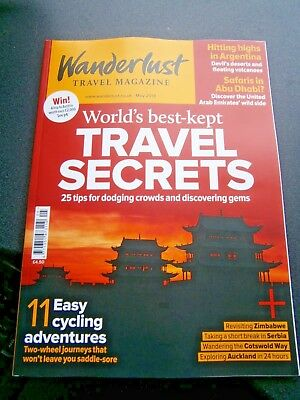 Wanderlust Travel Magazine May Issue 2018 (new)