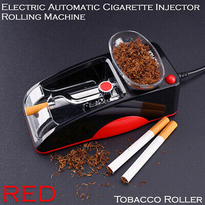 Rolling Cigarette Automatic Electric  Injector Tobacco Maker Roller Machine RED