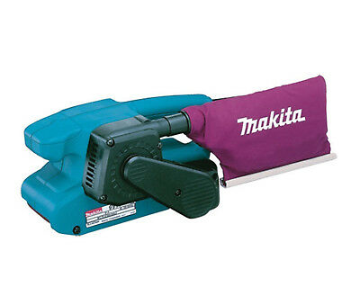 "Makita 9911 3"" 75mm Electric Heavy Duty Belt Sander 110V Corded With Dust Bag"