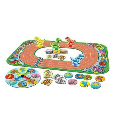 Orchard Toys Dinosaur Race Kids Match Count Board Game