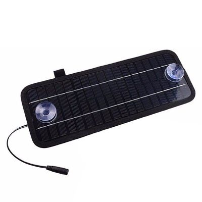 12V 4.5W Portable Power Solar Panel Battery Charger For Car Boat Motorcycle U4L7