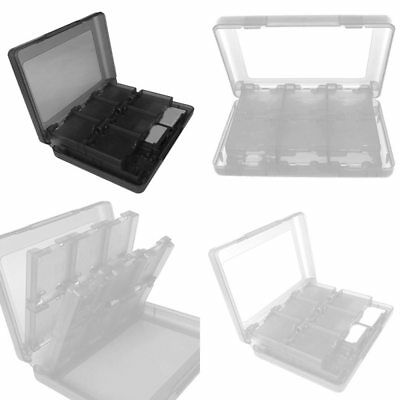 Game Card Case Holder 28 in 1 Cartridge Storage Boxes for Nintendo DS DSi Funny