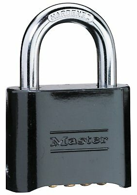 Master Lock Padlock, Set Your Own Combination Lock, 2 in. Wide, 178D
