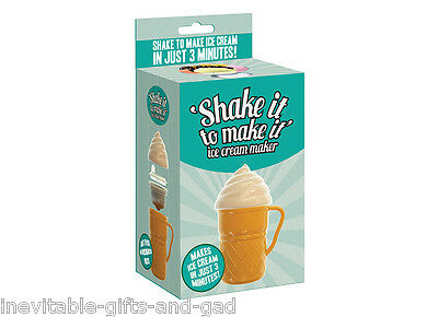 Shake it Make it Ice Cream Maker for kids children Ice Cream Maker