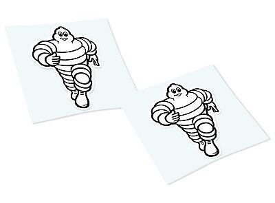 MICHELIN Classic Retro Car Motorcycle Decals Stickers