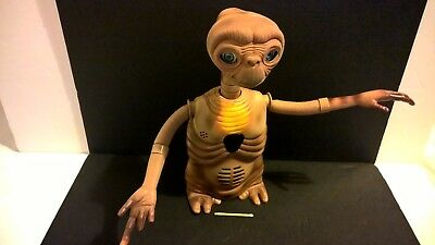 E.T. Extra Terrestrial sci fi film talking toy figurine 2000 Tiger missing coat