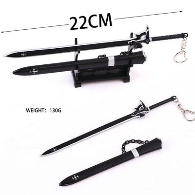 """1:6 Scale Soldier Model Weapon Accessories Japanese /""""Moon And Sun/"""" Sword"""
