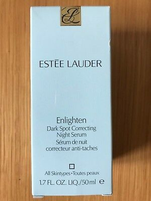 Estee Lauder Enlighten Dark Spot Correcting Night Serum, 50ml - New, Sealed