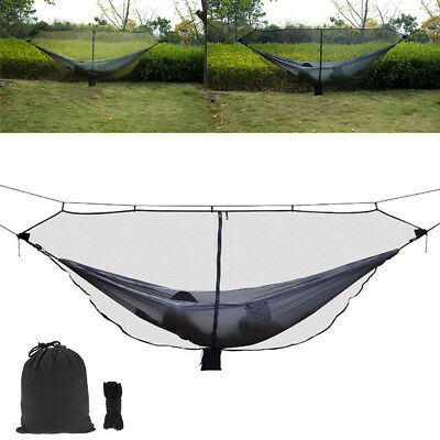 Portable Outdoor Camping Nylon Mosquito Net for Hammock Hanging Bed Sleep Lot DB