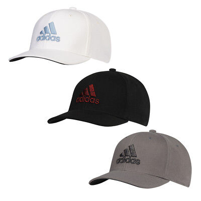 682610ef9b6 New Adidas Golf Heather Logo Fitted Cap PRE-CURVED BRIM - Pick Hat