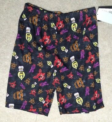 Five Nights at Freddy's Boy's PJ Shorts - Size 8 - NEW