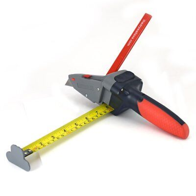 Drywall Axe Measuring Tape Utility Knife Measure Mark Cut Shingles Insulation