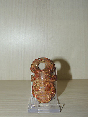 Antique Stone Mask Figure statuette,Idol,god,alien