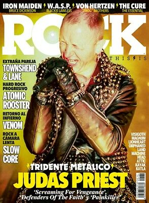 This is Rock Magazine Spain Issue 164 February 2018 - JUDAS PRIEST ROB HALFORD