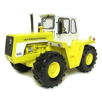 NEW LE 1/16 International Harvester IH 4100 Resin 4WD Yellow Industrial Tractor