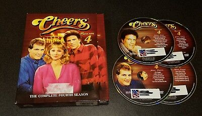Cheers: The Complete Fourth Season (DVD, 4-Disc Set) 4 classic tv show series
