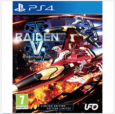 Raiden V Directors Cut Limited Edition  (Playstation 4)