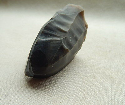 Neolithic Stone nucleus, Ukraine Flint Artifact.