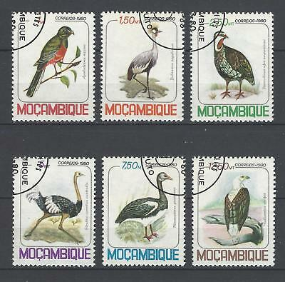 Mozambique 1980 Sc#708-13  Birds  CTO OG NH Set
