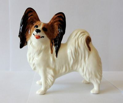 Papillon Author's Porcelain figurine + Gift Box. NEW