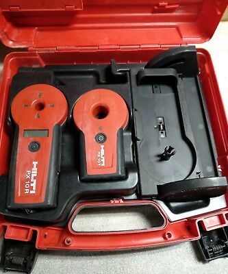 Hilti PX10 Transpointer Kit With Hardcase & PXA 70 Slope Adapter