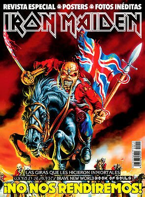 IRON MAIDEN (MONOGRAPHIC/MAGAZINE + POSTERS) This is Rock Magazine Spain