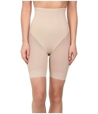 05feab09b3294 TC Fine Intimates Sheer Shaping Comfort Hi-Waist Thigh Slimmer 4229 Nude  Medium