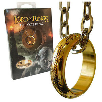 Lord of the Rings Ring the One ring Noble Collection Rings