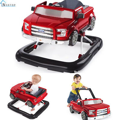 3 Ways To Play Baby Walker Ford F150 Red Push Behind Safety Seat Activity Infant