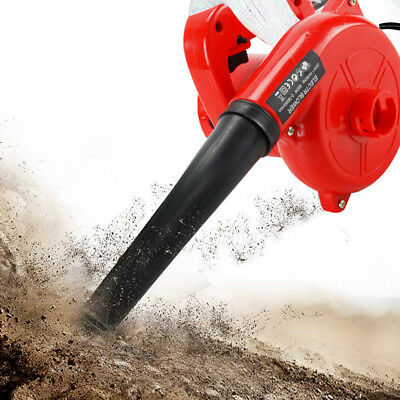 Electric Air Leaf Blower Vacuum Dust Cleaner Handheld Inflator 600W Portable