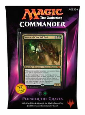 """Magic: The Gathering - MTG Commander 2015 - """"PLUNDER THE GRAVES"""""""