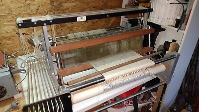8 shafts table weaving loom 600mm wide