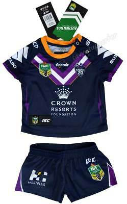 Melbourne Storm 2018 NRL Toddler Home Jersey Sizes 0-4 BNWT