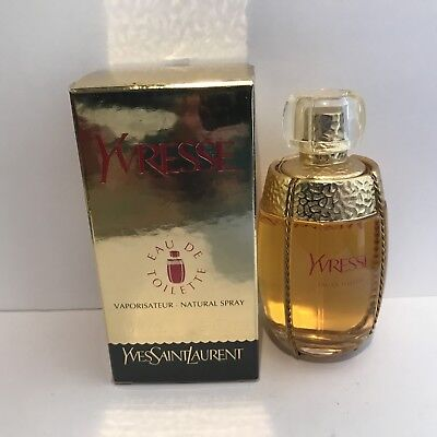 Yves Saint Laurent Yvresse Edt 50ml  1983's