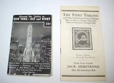 Two (2) Booklets: The Fiery Throne and New York - Day & Night