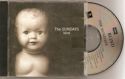 "the Sundays - ""Blind"" - CD is in poor condition"